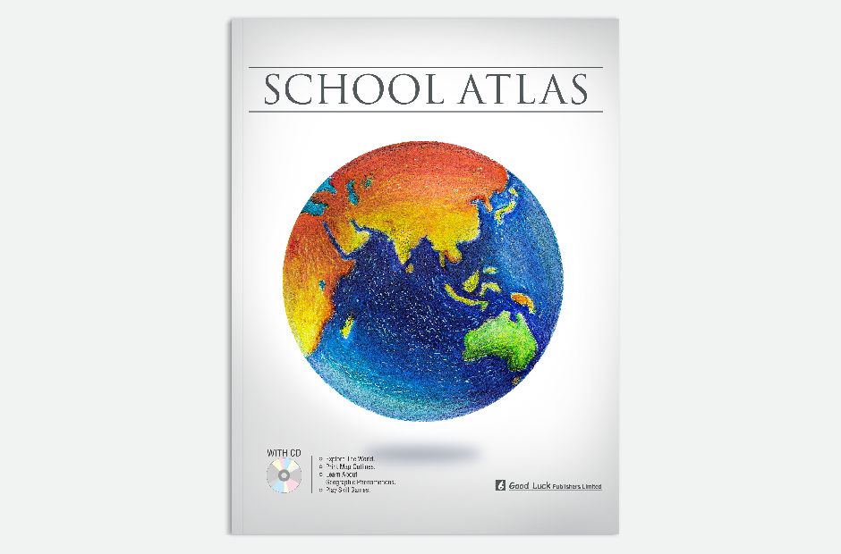 Goodluck publishers school atlas