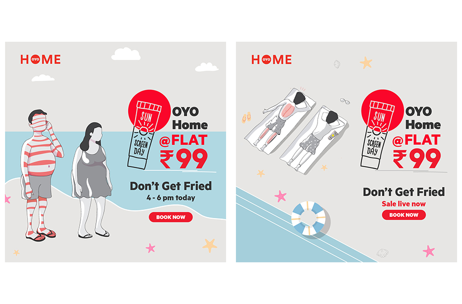 OYO Home sunscreen day